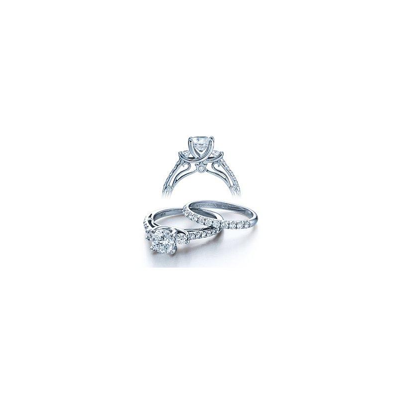 Verragio Verragio Couture-0397 - 14k White Gold Diamond Engagement Ring by Verragio
