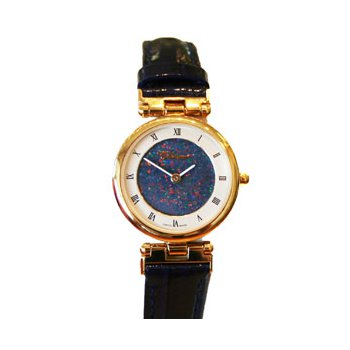 Classique' Watches Genuine Australian Opal Dial Watch - #14-80GP OPD