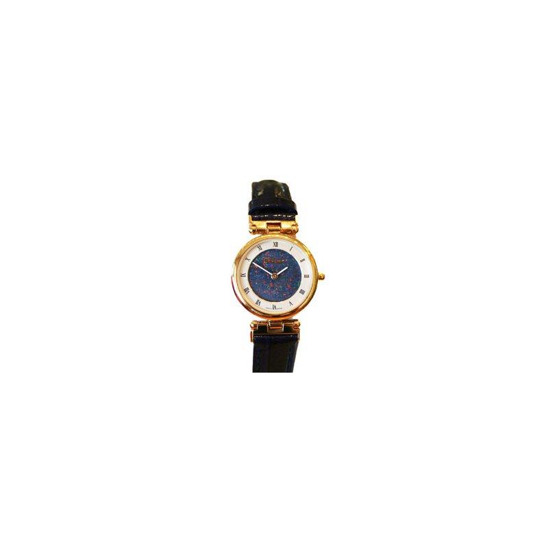Swiss Watches Classique' Watches Genuine Australian Opal Dial Watch - #14-80GP OPD