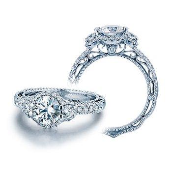 Verragio Venetian-5025R - 14k White Gold Diamond Engagement Ring by Verragio