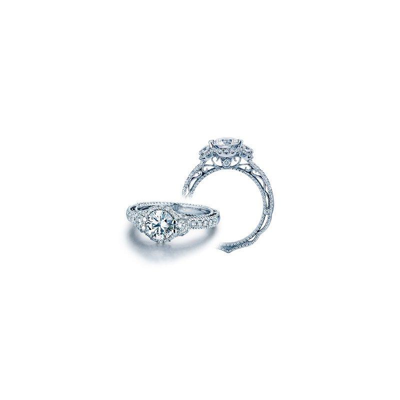 Verragio Verragio Venetian-5025R - 14k White Gold Diamond Engagement Ring by Verragio