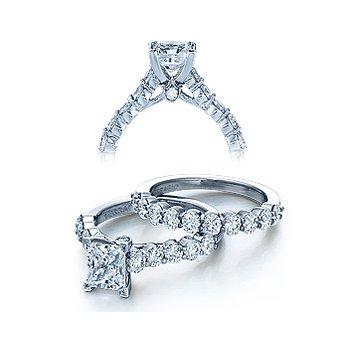Verragio Couture 0410MP - 18k White Gold Diamond Engagement Ring by Verragio
