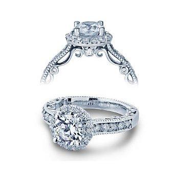Verragio Paradiso-3077R - 14k White Gold Diamond Engagement Ring by Verragio