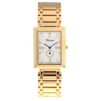 Classique Gents Stainless Steel Gold Plated Swiss Quartz Watch - #35718
