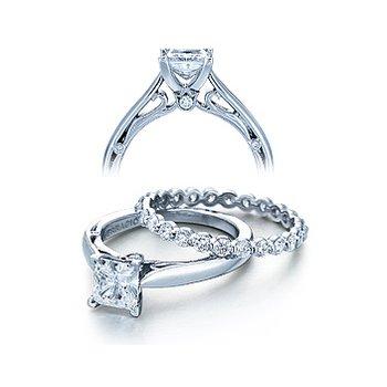Verragio Couture 0409P - 18k White Gold Diamond Engagement Ring by Verragio