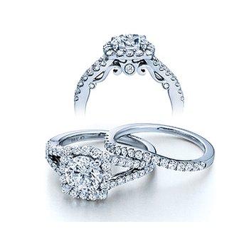 Verragio Insignia-7046 - 14k White Gold Diamond Engagement Ring by Verragio