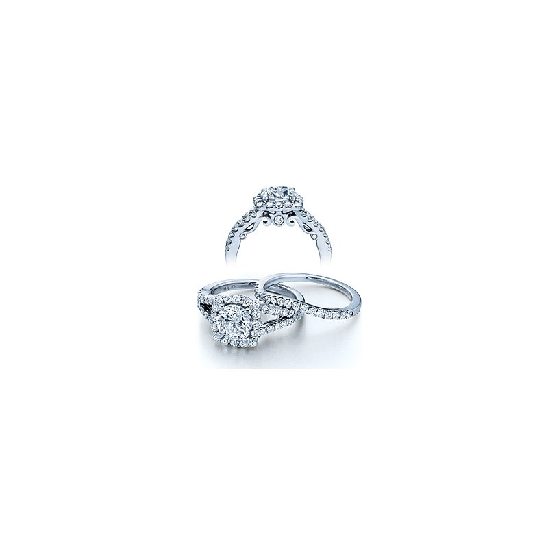 Verragio Verragio Insignia-7046 - 14k White Gold Diamond Engagement Ring by Verragio