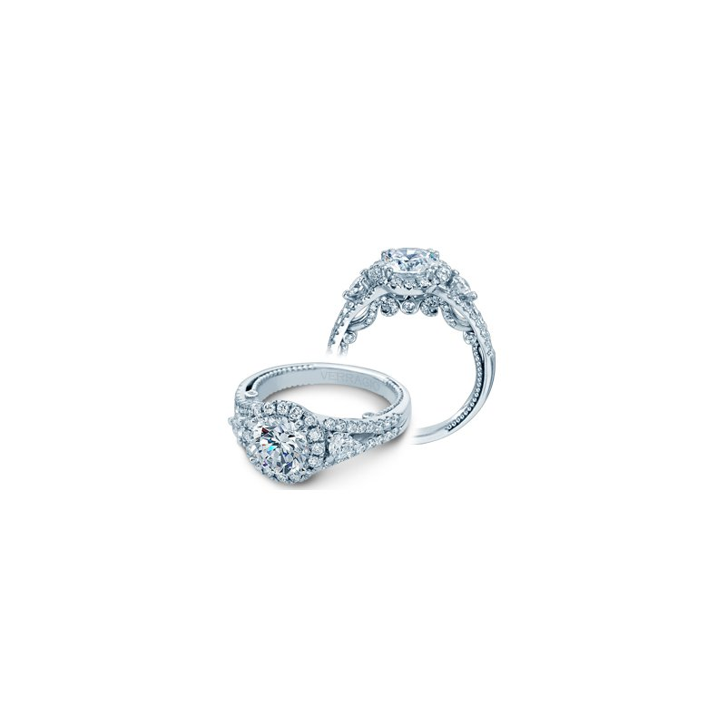 Verragio Verragio Insignia-7068RL-PLT - Platinum Diamond Engagement Ring by Verragio