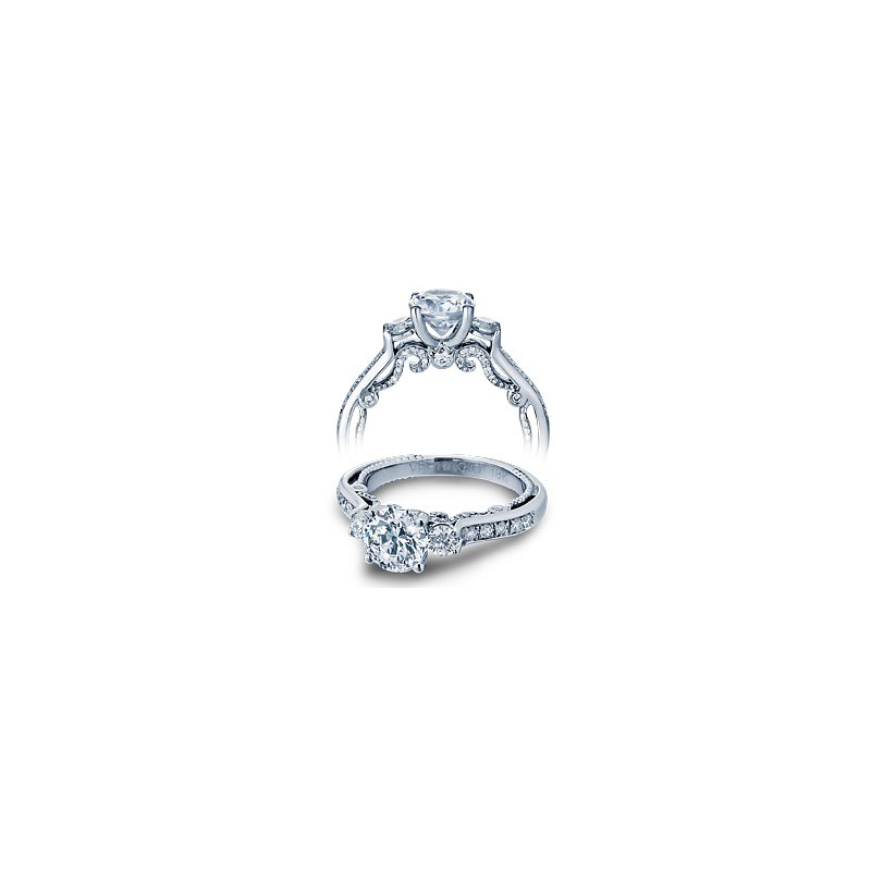 Verragio Verragio Insignia 7067R - 14k White Gold Diamond Engagement Ring by Verragio