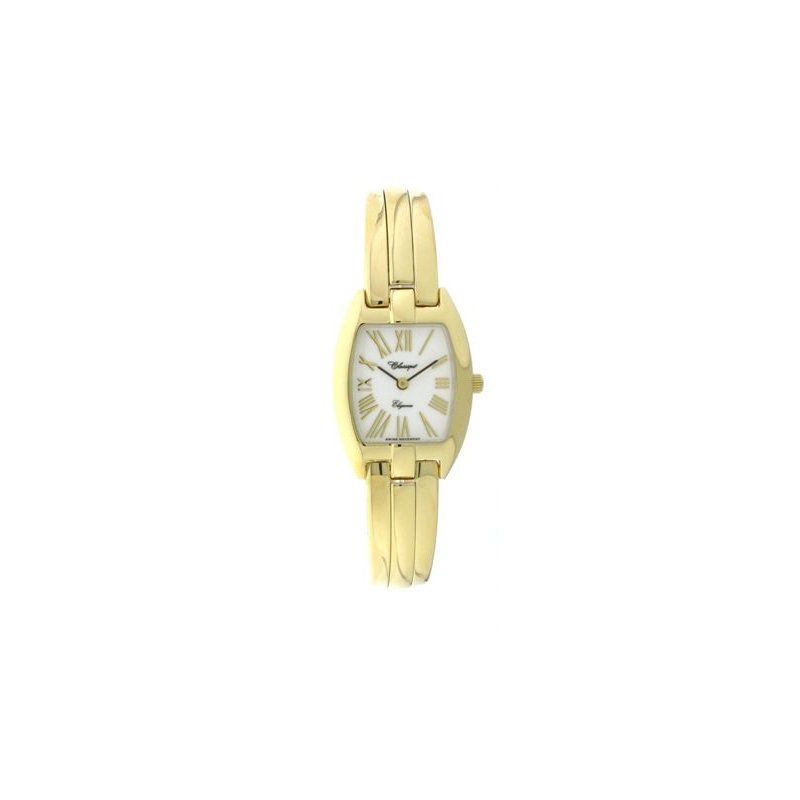 Swiss Watches Classique' Ladies Gold Plate 1/2 Bangle Watch - #28-124G