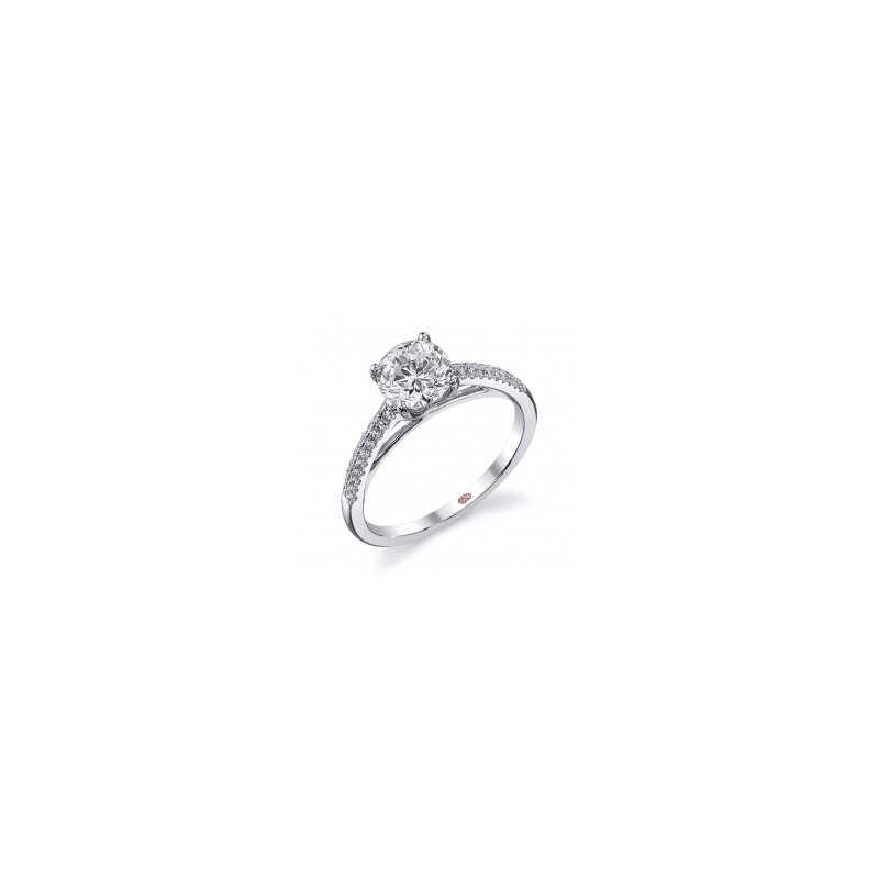 Demarco Demarco DW5613 - 18k White Gold Engagement Ring by Demarco