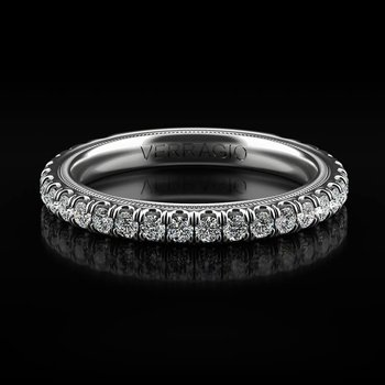 Tradition Collection Wedding Band - Style #TR180W in 14k White Gold