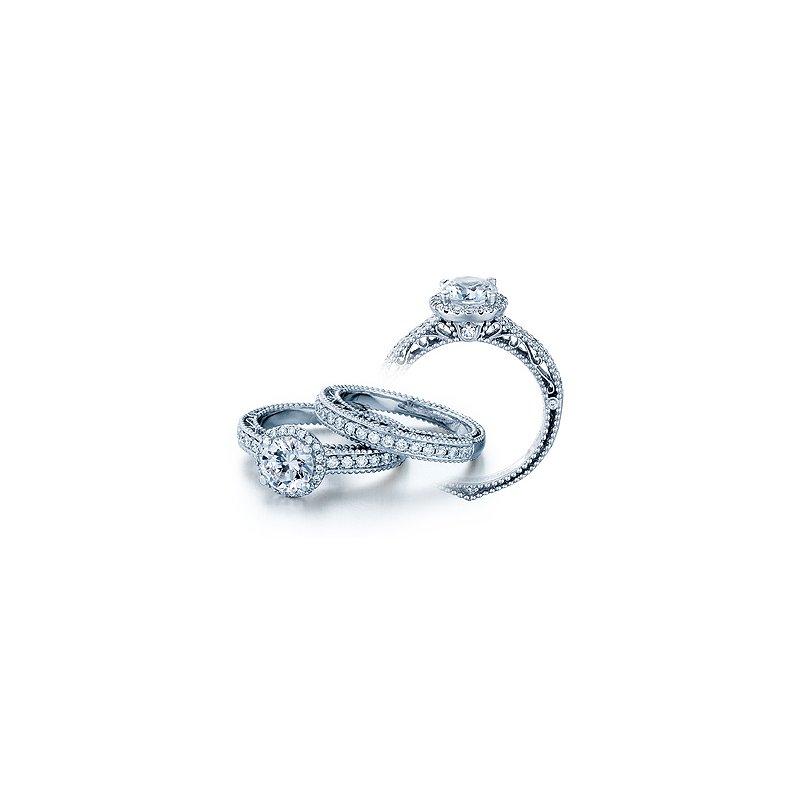 Verragio Verragio Venetian 5002R - 18k White Gold Diamond Engagement Ring by Verragio