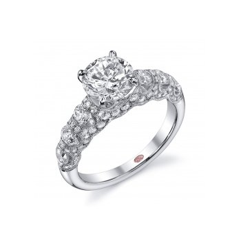 Demarco DW4631 - 18k White Gold Engagement Ring by Demarco