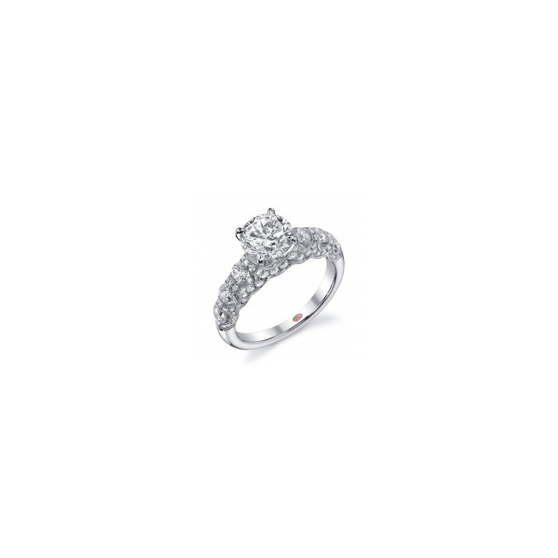 Demarco Demarco DW4631 - 18k White Gold Engagement Ring by Demarco