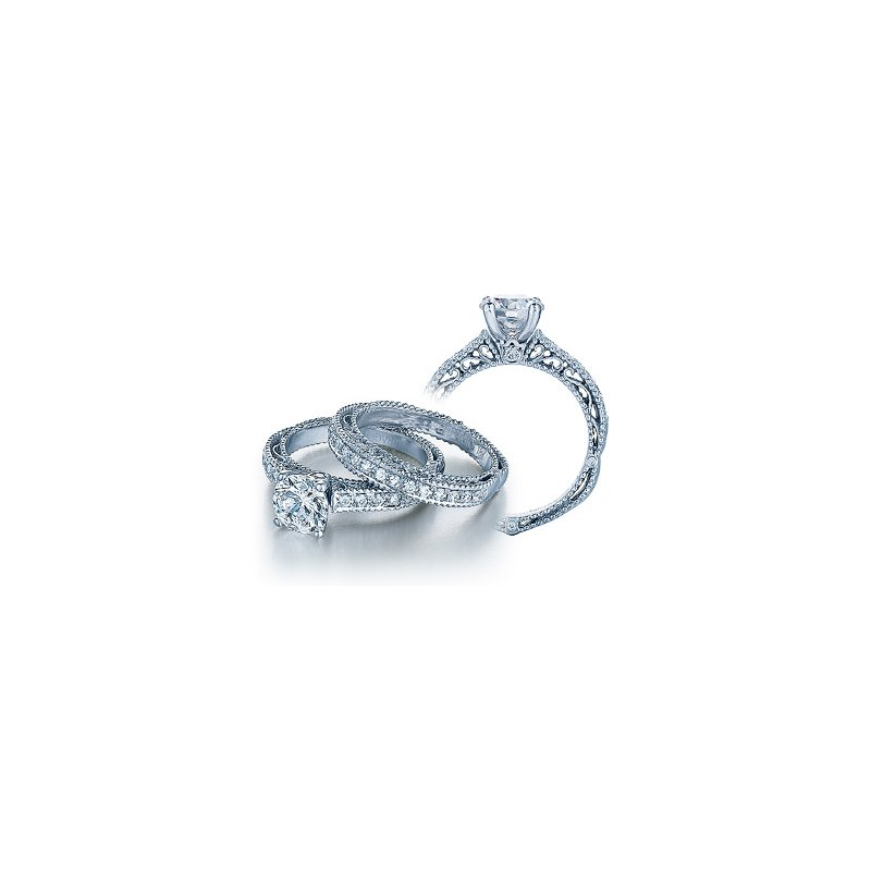 Verragio Verragio Venetian 5001R - 18k White Gold Diamond Engagement Ring by Verragio