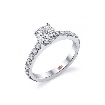 Demarco DW4833 - 18k White Gold Engagement Ring by Demarco