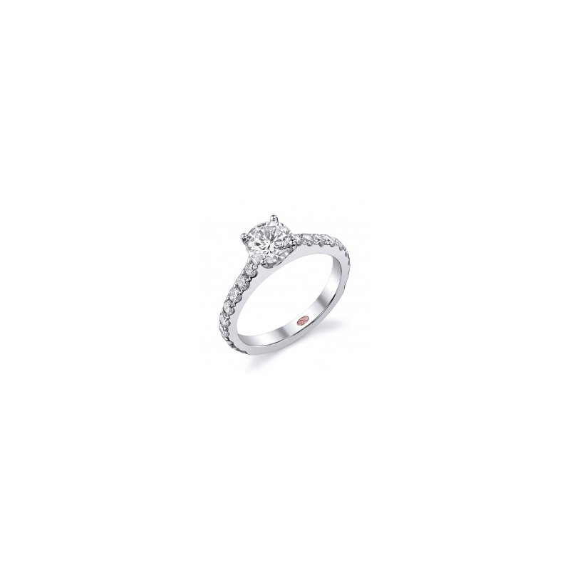 Demarco Demarco DW4833 - 18k White Gold Engagement Ring by Demarco