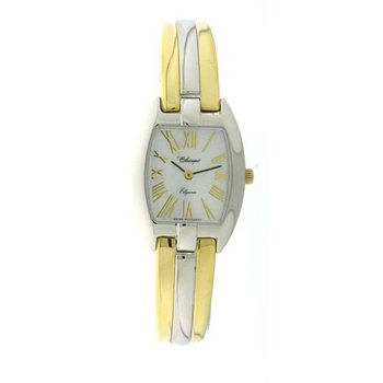 Classique' Ladies Two Tone 1/2 Bangle Watch - #28-124B