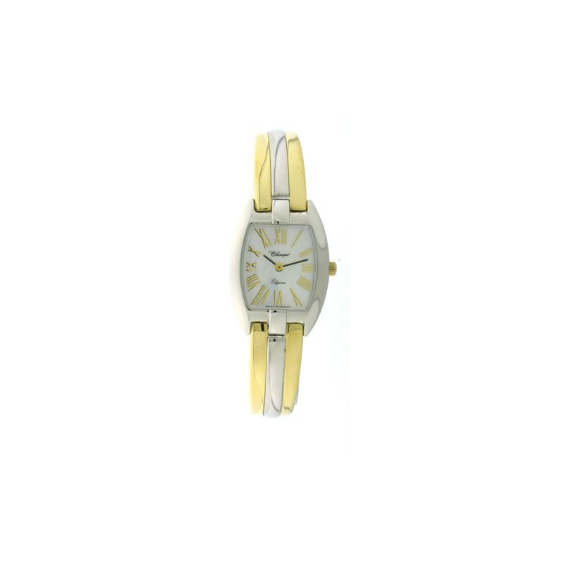 Swiss Watches Classique' Ladies Two Tone 1/2 Bangle Watch - #28-124B