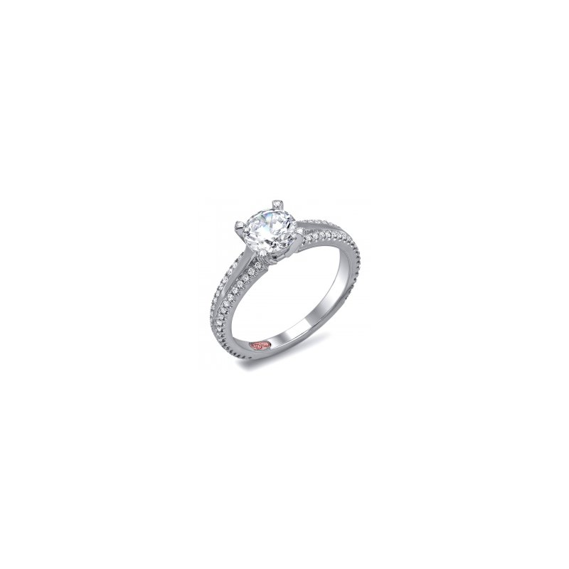 Demarco Demarco DW6125 - 18k White Gold Engagement Ring by Demarco