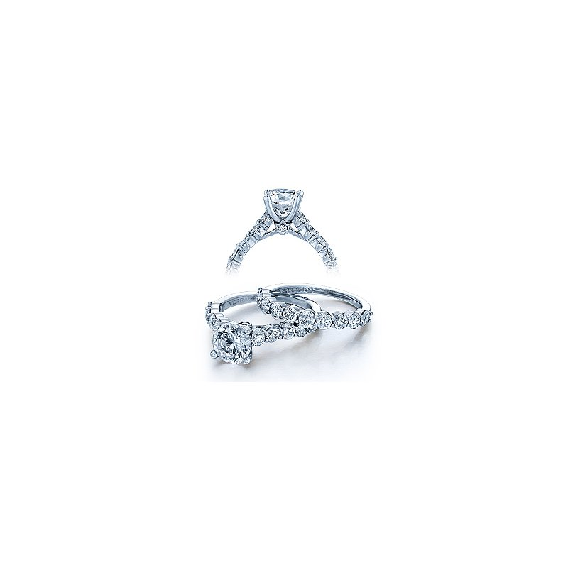 Verragio Verragio Couture 0410LR - 18k White Gold Diamond Engagement Ring by Verragio