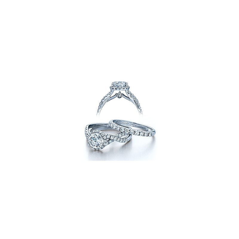Verragio Verragio Couture-0384 - 14k White Gold Diamond Engagement Ring by Verragio