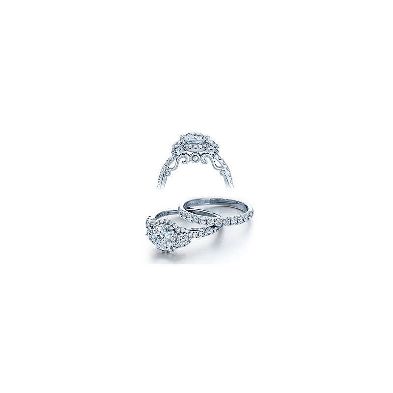 Verragio Verragio Insignia 7049D - 18k White Gold Diamond Engagement Ring by Verragio