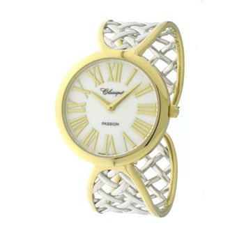 Classique' Ladies Two Tone Bangle Watch - #28-135B
