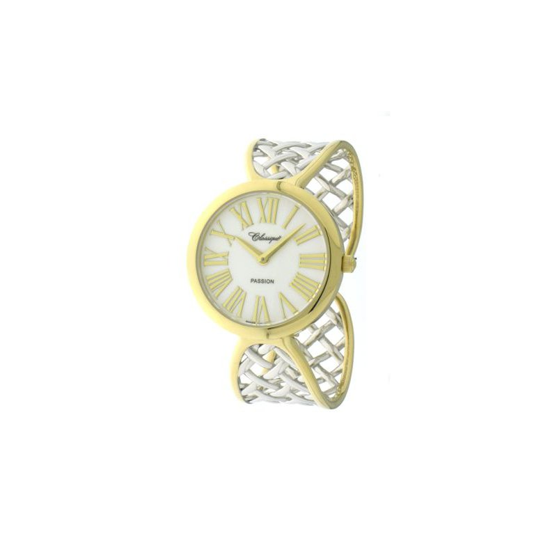 Swiss Watches Classique' Ladies Two Tone Bangle Watch - #28-135B
