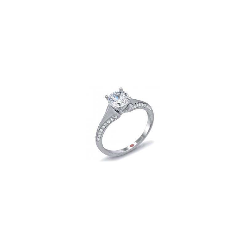 Demarco Demarco DW6106 - 18k White Gold Engagement Ring by Demarco