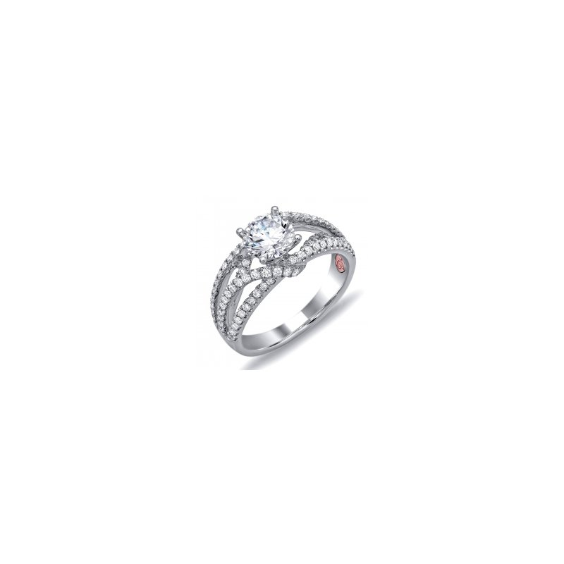 Demarco Demarco DW6108 - 18k White Gold Engagement Ring by Demarco