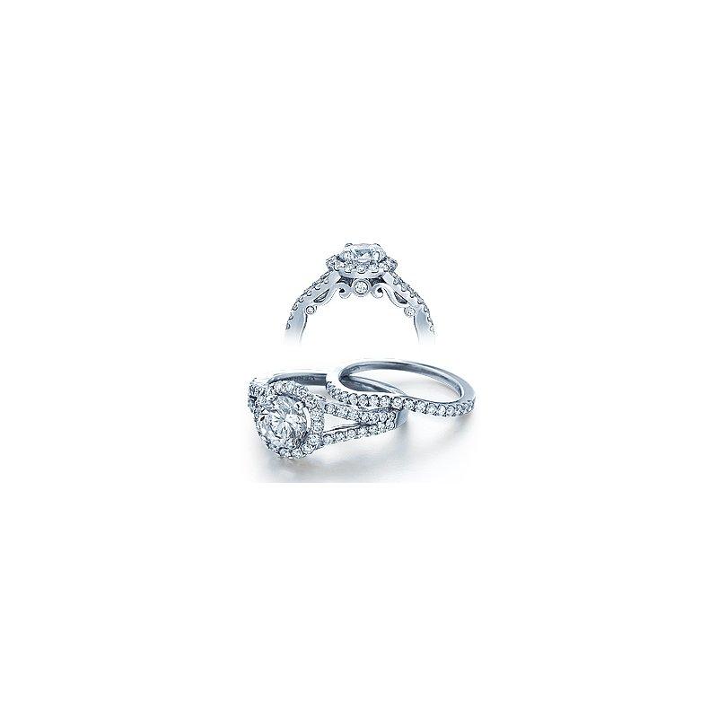 Verragio Verragio Insignia 7010R - 18k White Gold Diamond Engagement Ring by Verragio