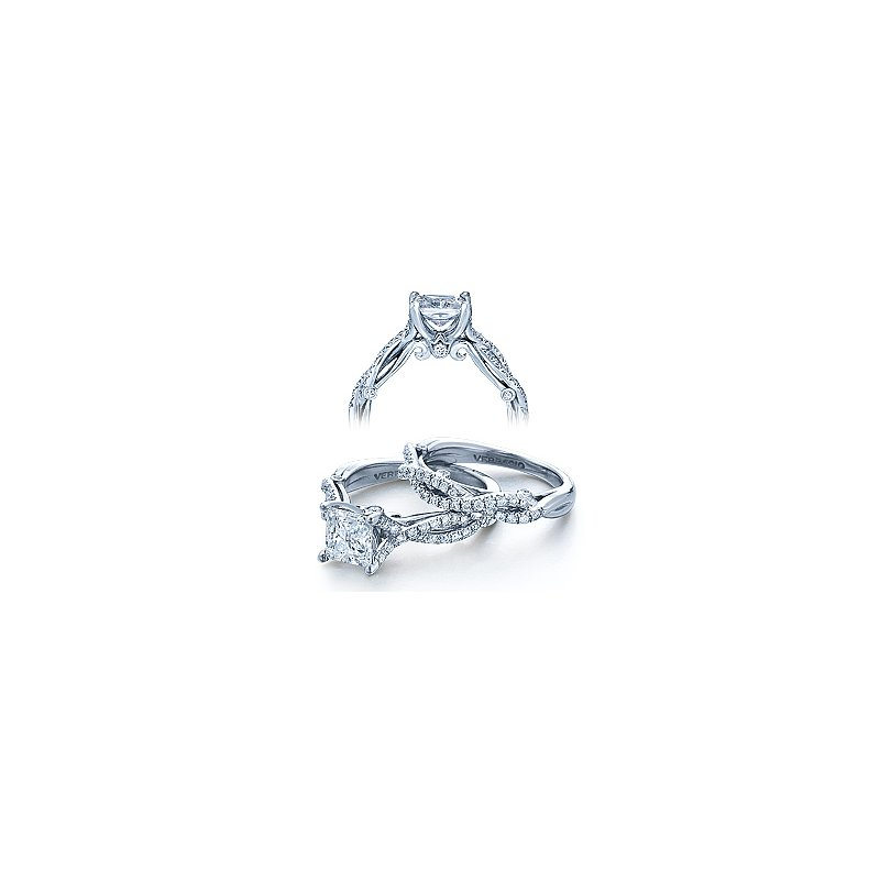 Verragio Verragio Insignia 7050 - 18k White Gold Diamond Engagement Ring by Verragio