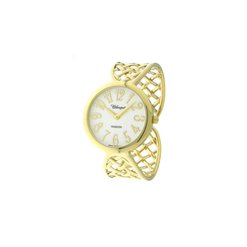 Swiss Watches Classique' Ladies Gold Plate Bangle Watch - #28-135G