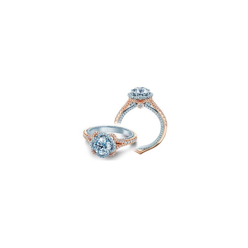 Verragio Verragio Couture 0444 2RW - 18k White and Rose Gold Diamond Engagement Ring