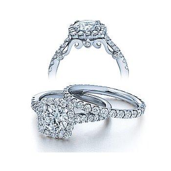Verragio Insignia-7047 - 14k White Gold Diamond Engagement Ring by Verragio