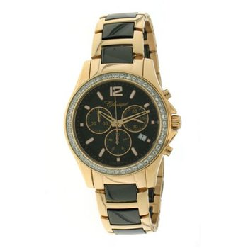 Classique Ladies' Chronograph Black Ceramic Watch - #87-04RB
