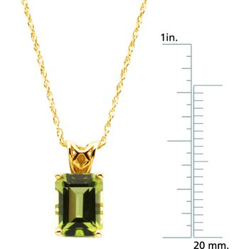 Genuine Peridot Necklace