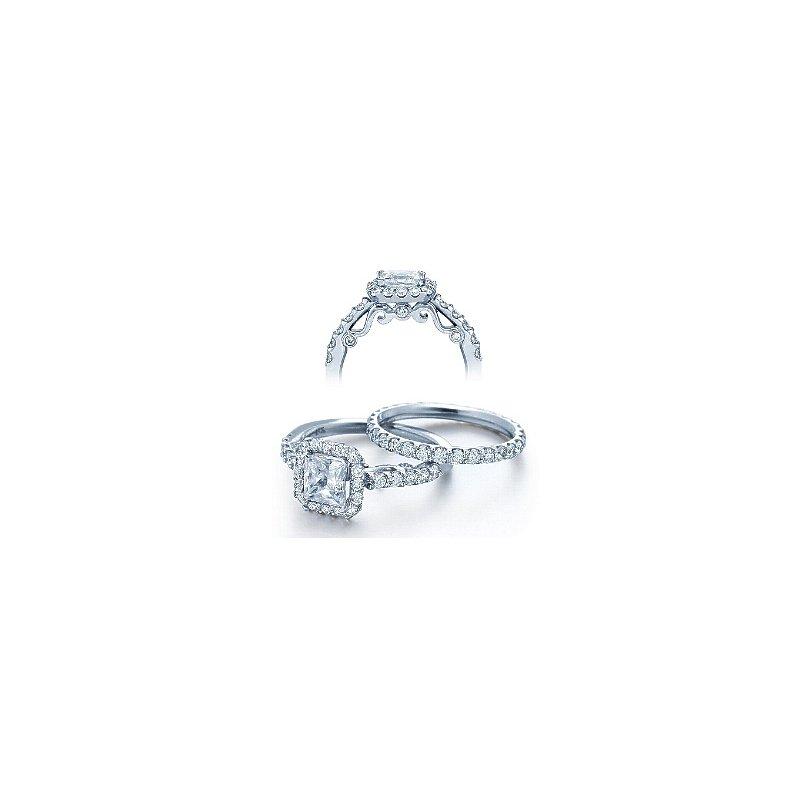Verragio Verragio Insignia 7005 - Verragio Diamond Engagement Ring 18k White Gold Beautiful Halo Design