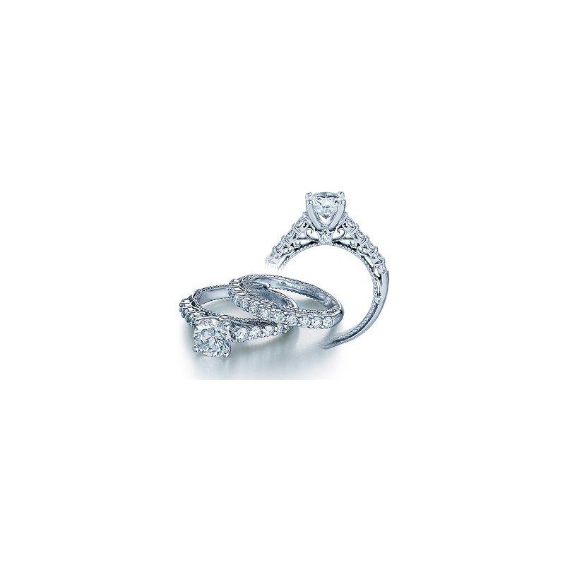 Verragio Verragio Venetian 5010R - 18k White Gold Diamond Engagement Ring by Verragio