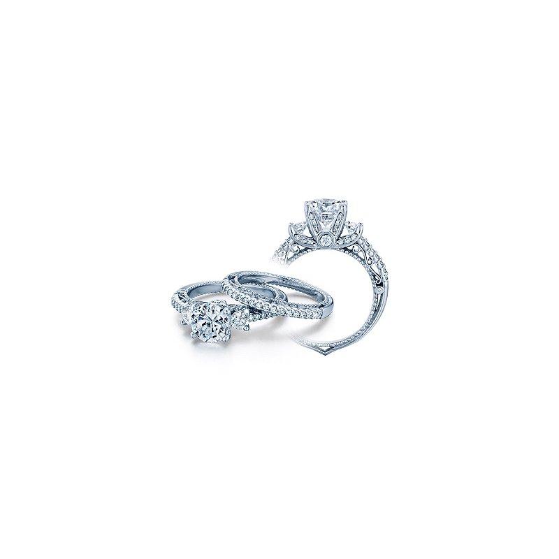 Verragio Verragio Venetian 5023R - 18k White Gold Diamond Engagement Ring by Verragio