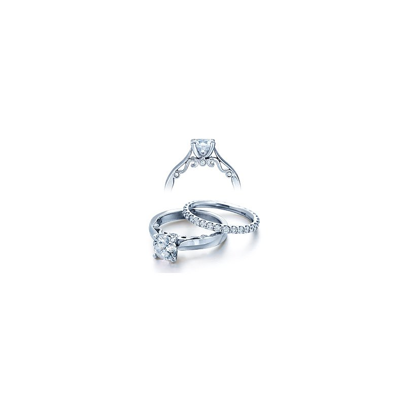 Verragio Verragio Insignia 7021 - 18k White Gold Diamond Engagement Ring by Verragio