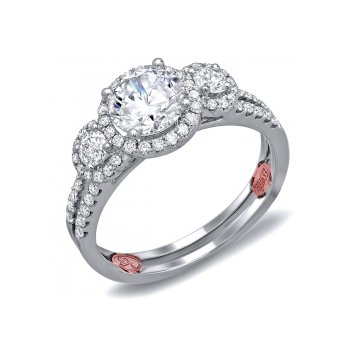 Demarco DW6024 - 18k White Gold Engagement Ring by Demarco