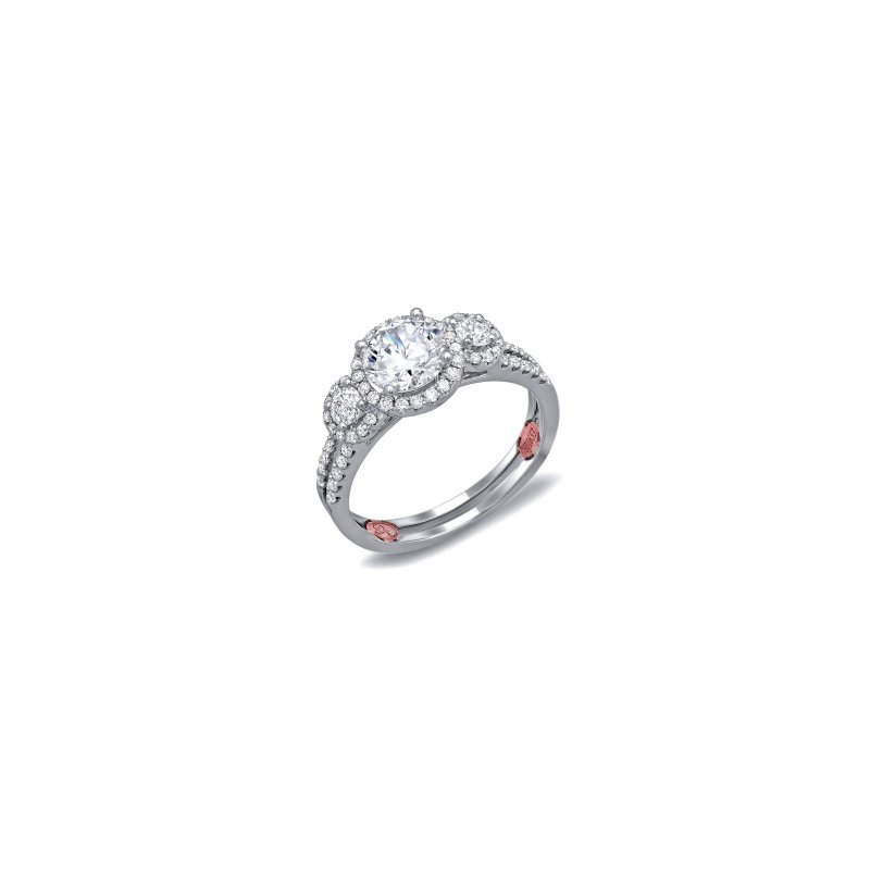Demarco Demarco DW6024 - 18k White Gold Engagement Ring by Demarco