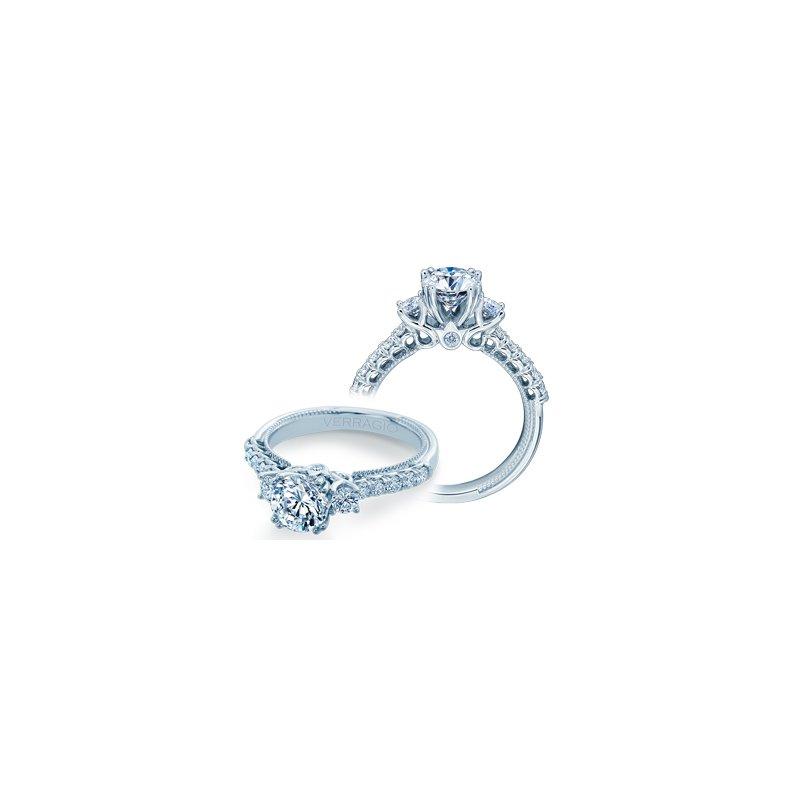Verragio Verragio Renaissance Collection 3-Stone Diamond Engagement Ring - Style #V-940-R6.5