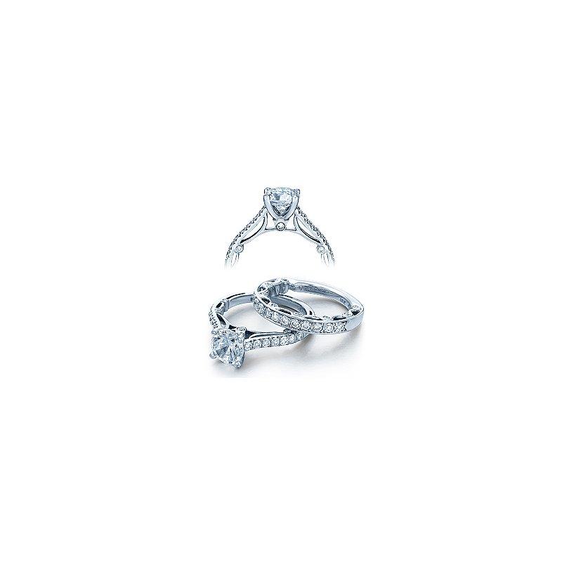 Verragio Verragio Paradiso 3074 - 18k White Gold Diamond Engagement Ring by Verragio