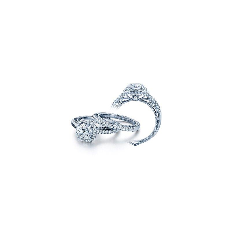 Verragio Verragio Venetian 5024 - 18k White Gold Diamond Engagement Ring by Verragio