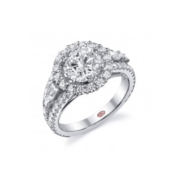 Demarco DW5429 - 18k White Gold Engagement Ring by Demarco