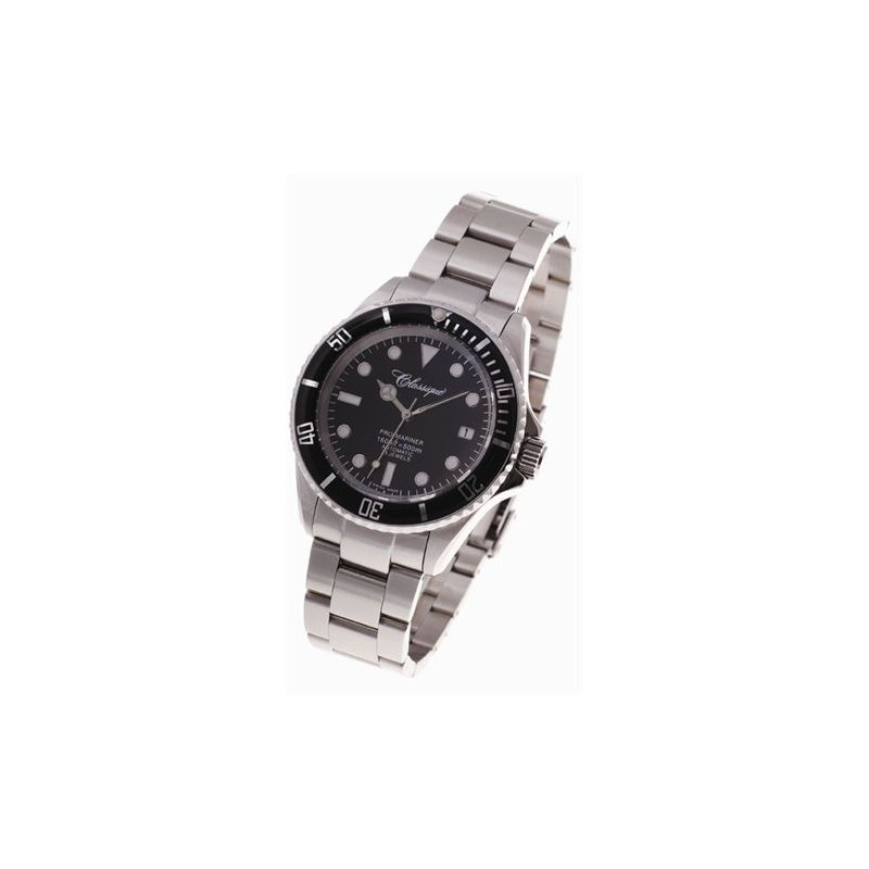 Swiss Watches Classique Gents Stainless Steel 500m Automatic Pro-Mariner Divers Watch - 9002Pro